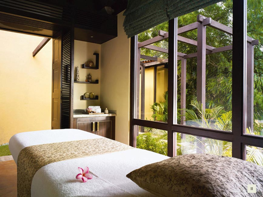 Taj Spa,massage room